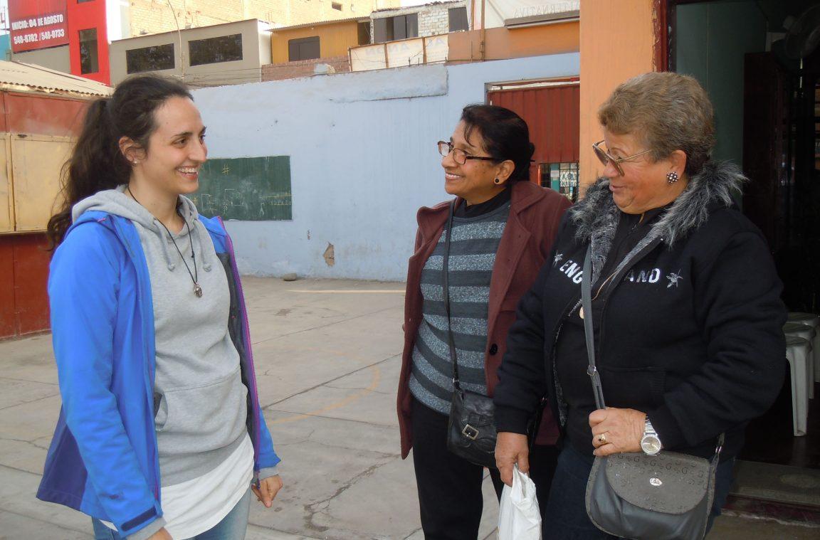 Camilla e i suoi nove mesi tra la gente di carabayllo for Gente settimanale sito