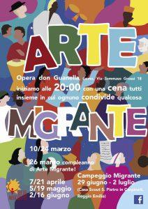 Un anno di arte migrante a ComoVOLANTINO
