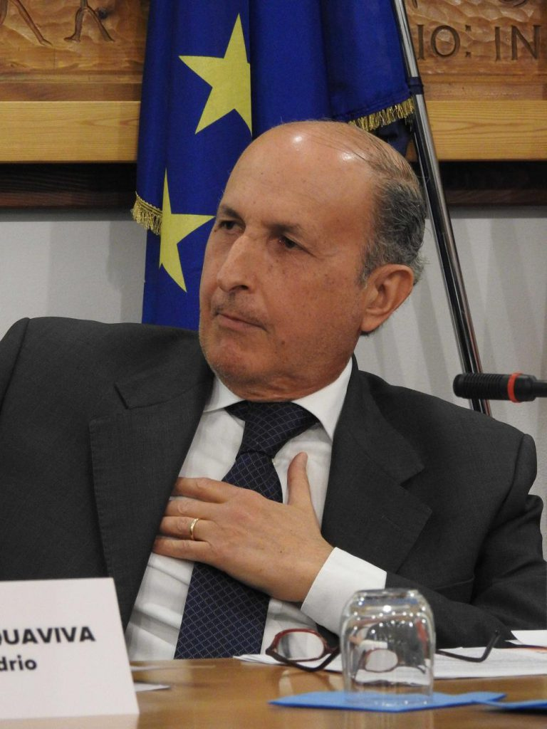 Il Prefetto di Sondrio Giuseppe Mario Scalia