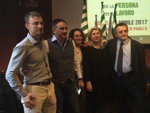 Angelo Re, Leonardo Palmisano,Caterina Valsecchi Adria Bartolich e Ugo Duci Seg Reg