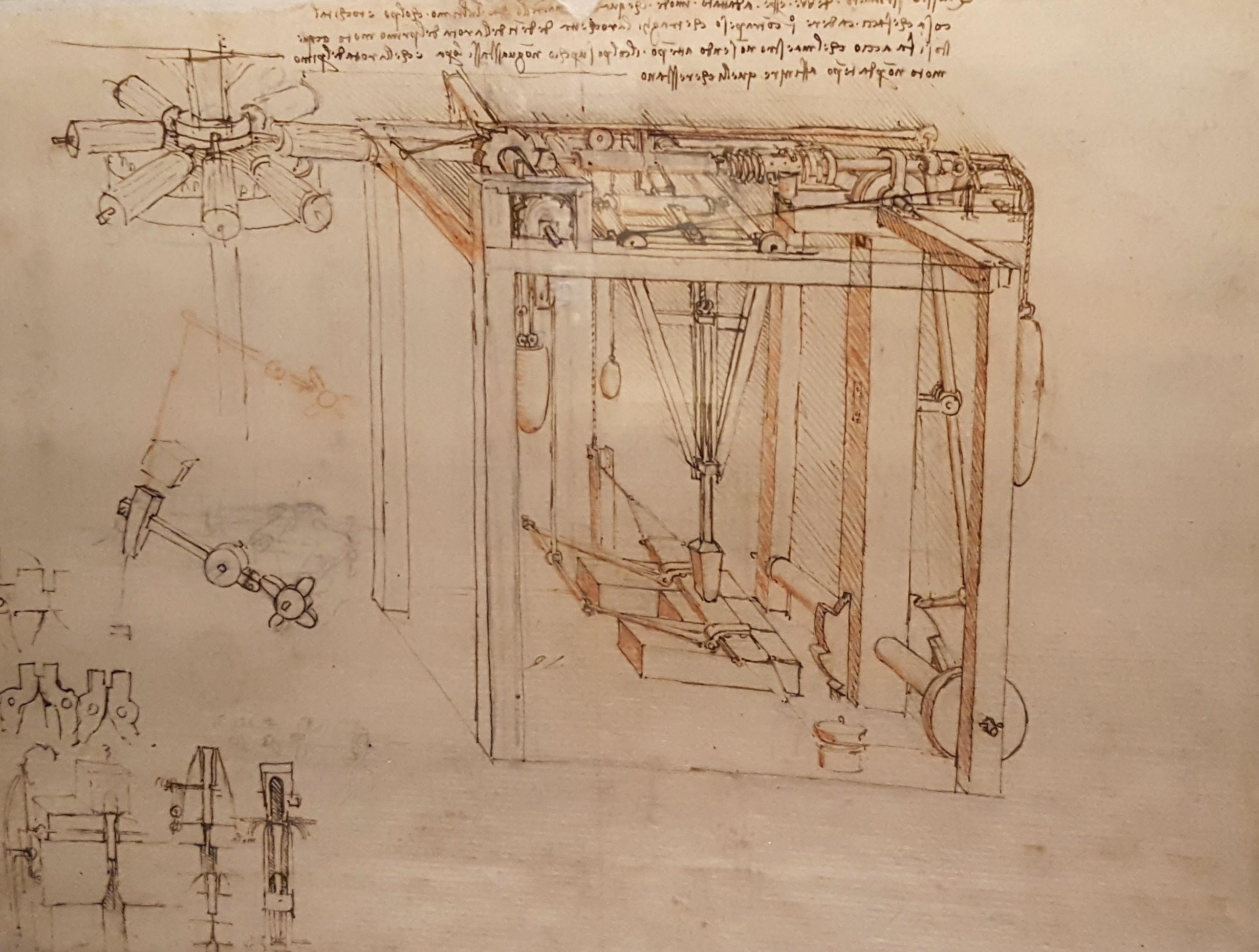 Verso Linaugurazione Dal 14 Marzo Il Genio Di Leonardo In Mostra A