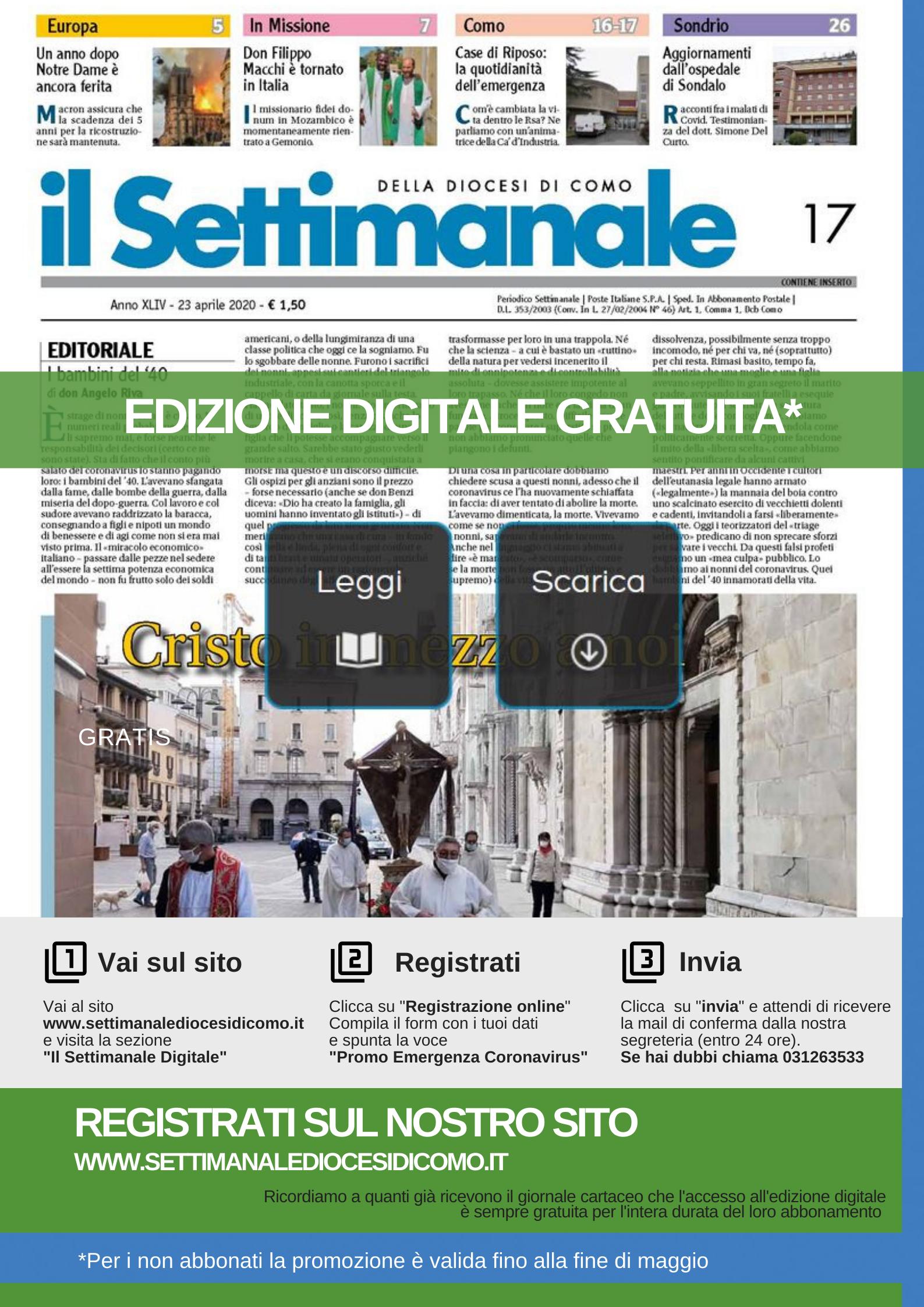 il settimanale digitale