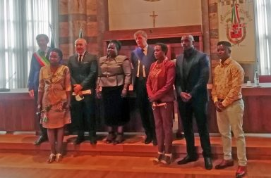 L'Ambasciatrice del Burundi a Sondrio
