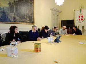Conferenza stampa a Como Party con noi