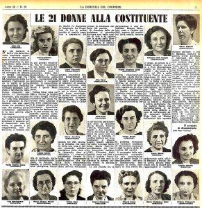 Donne e costituente