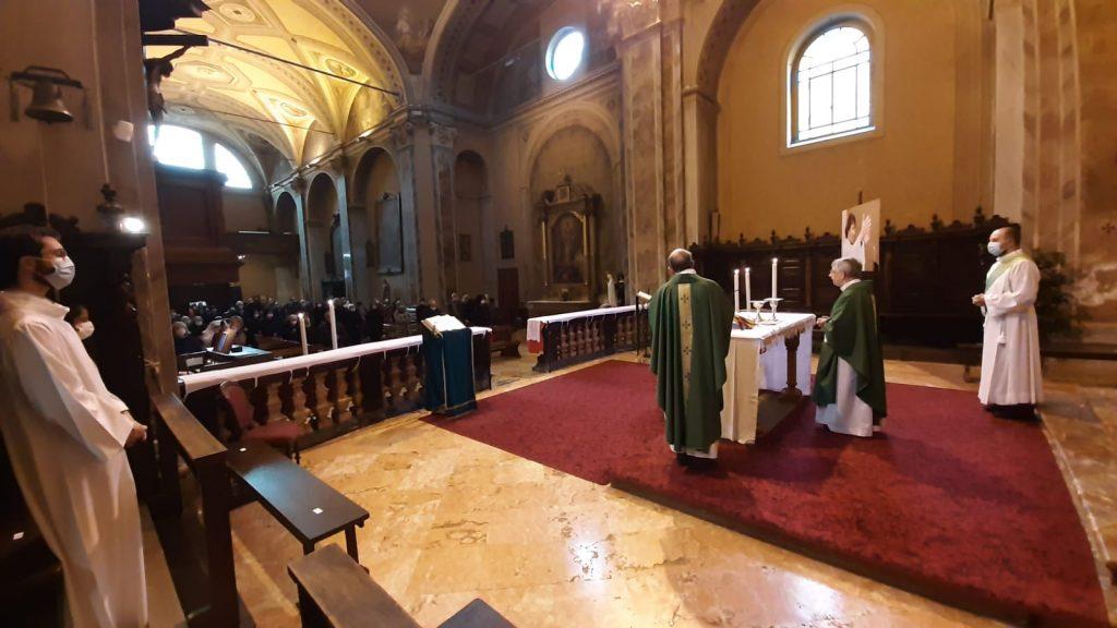 San Rocco - Messa a due mesi dall'uccisione di don Roberto Malgesini
