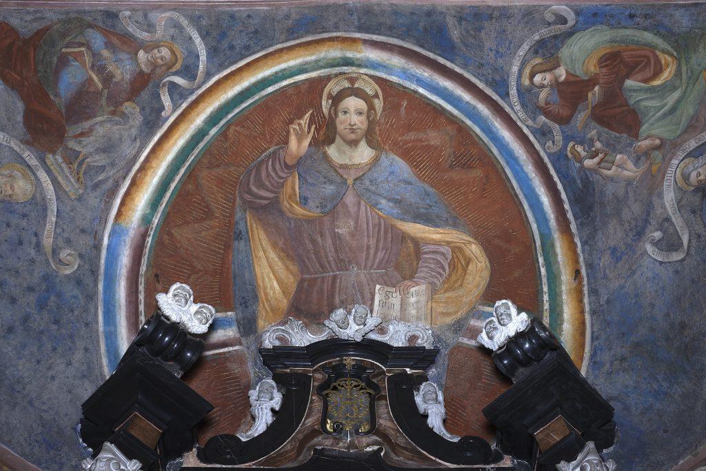 Andrea De Passeris, Teofania, 1511 - chiesa della Sassella a Sondrio